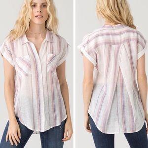 Thread & Supply Margot Linen Blend Top